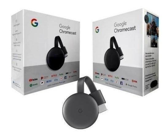 Google Chromecast 3 Original 1080p 4k Lacrado Fabrica Nota