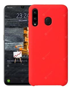Funda Silicona Silicone Case Samsung A20 A30 A50