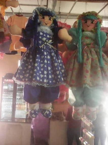 Muñecas De Trapo 100cmx55cm Niñas Hechas A Mano Peluches
