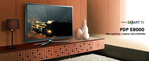 Tv64 New-plasma Samsung Pl64e8000 Smart 3d Full-hd