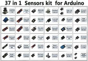 Kit 37 Módulos Sensores Arduino Robótica Mogi Eletrônica
