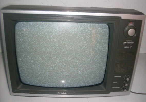 Tv Philco Soft De 17 Polegada Preto E Branco