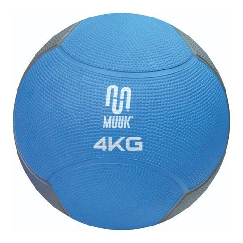 Balón Medicinal Muuk Rebote Soft 4 Kg