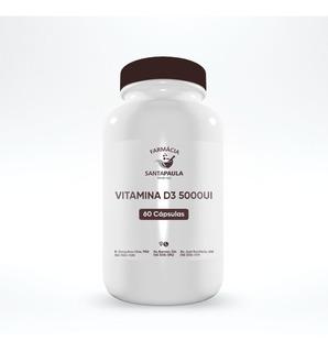 Vitamina D3 5000ui 60 Cápsulas