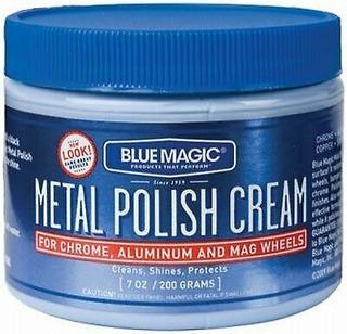 Magic Blue Crema Pulidora Metales Y Desmanchadora Pintura