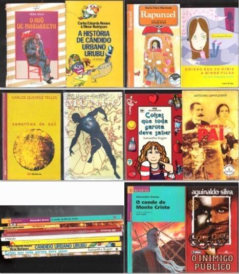 9 Livros Infanto Juvenil - O Conde De Monte Cristo, Rapunzel