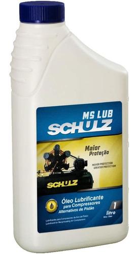 Óleo Lubrificante 2ms15 Para Compressor 1litro Schulz