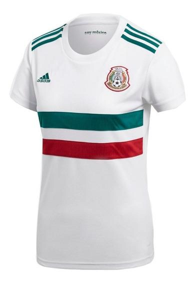 Jersey adidas Selección Mexicana 2018 Mujer Original Cy5541