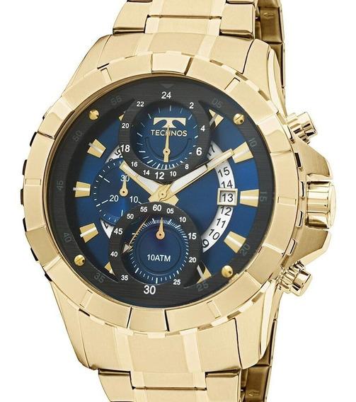 Relógio Technos Masculino Legacy Dourado - Js15em/4a