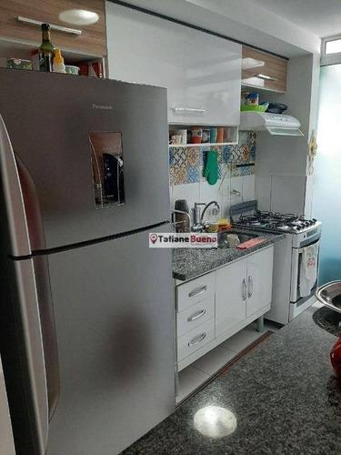 Imagem 1 de 20 de Apartamento Com 3 Dormitórios À Venda, 55 M² Por R$ 295.000 - Jardim América - São José Dos Campos/sp - Ap2390