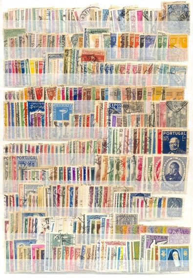 @ Portugal. Cerca/800 Selos U. 1862/95. Cat. +1000 Euros.@