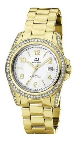 Relógio Feminino Ana Hickmann Analógico Ah20159h Dourado