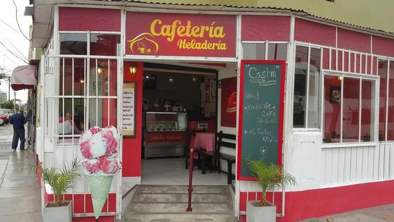 Traspaso Fuente De Soda Cafeteria Heladeria Por Viaje