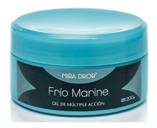 Frio Marine Gel Anticelulitico 200gr Mira Dror Lomas De Z