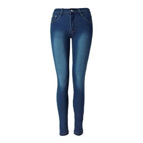 Mulheres Moderno Jeans Elegante Regular Fit Brim Jeans