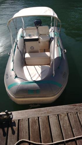 Bote Flexboat S R 1 5  Mercury 50 Hp 2001  Confira!