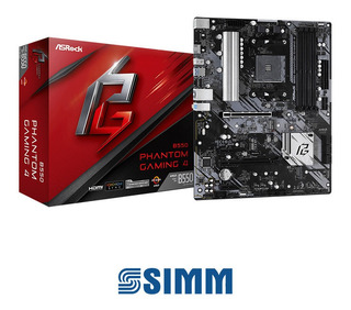 Motherboard B550 Phantom Gaming 4 - Simmcye