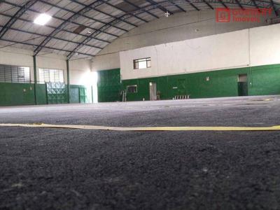 Galpão Para Alugar, 1600 M² Por R$ 18.000/mês - Cidade Industrial Satélite De São Paulo - Guarulhos/sp - Ga0324
