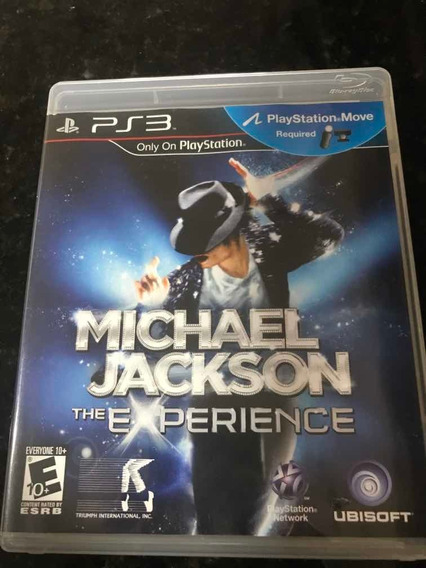 Jogo Ps3 Michael Jackson The Experience Original Mídia