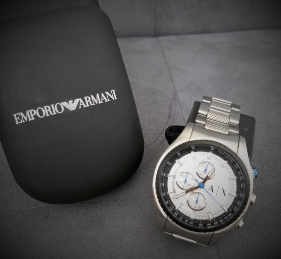 Super Oferta Reloj Para Caballero Ax Mov. Cuarzo 3 Registros
