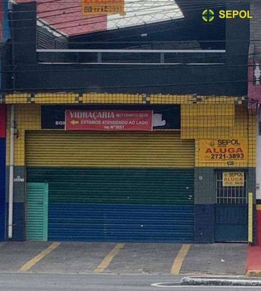 Salão, 120 M² - Venda Por R$ 1.200.000,00 Ou Aluguel Por R$ 3.500,00/mês - Jardim Aricanduva - São Paulo/sp - Sl0065