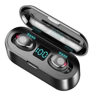 Audífonos Bluetooth 5.0 F9 Tws Touch Manos Libres Power Bank