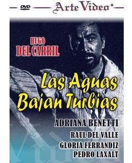 Las Aguas Bajan Turbias - Hugo Del Carril - Dvd Original