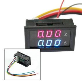 Voltimetro Amperimetro 0 100v 10a Dual Display Led Favix