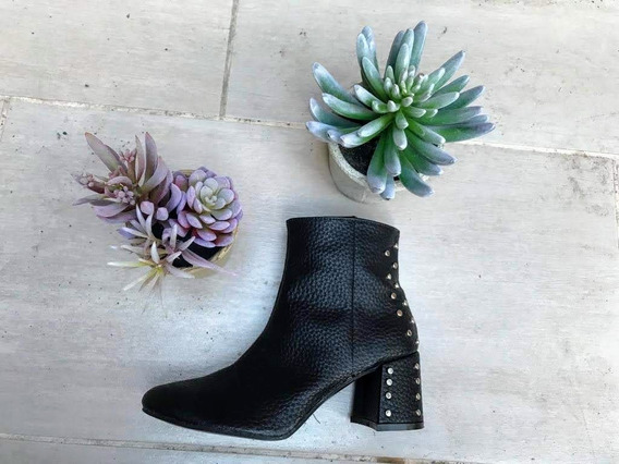 Zapato Bota De Mujer, Nuevo De Fabrica