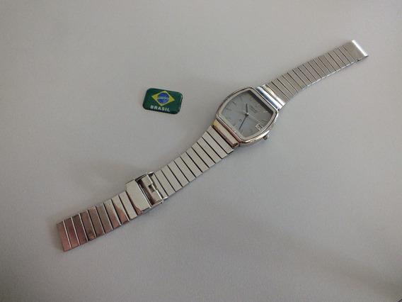 Relógio Orient Antigo Quadrado Quartz Dec. 80