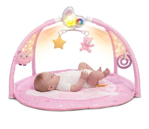 Chicco Enjoy Colours Gimnasio Bebe Gym Pink 98661 E. Full