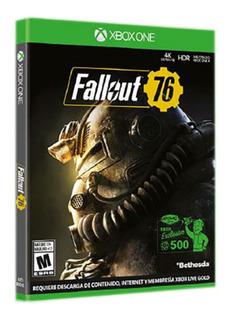 Xbox One Juego Fallout 76 Para Xbox One Nuevo Fisico