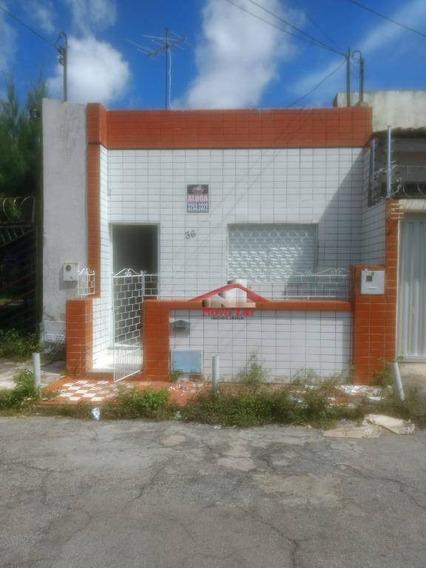 Casa Com 1 Dormitório Para Alugar, 40 M² Por R$ 800,00/mês - Aldeota - Fortaleza/ce - Ca0211