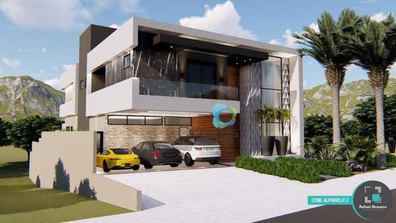 Casa Com 4 Dormitórios À Venda, 430 M² Por R$ 1.980.000 - Alphaville - Ribeirão Preto/sp - Ca1511