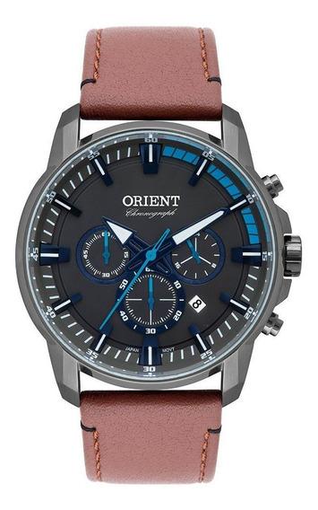 Relógio Orient Masculino Eternal Cinza Myscc006g1mx