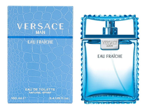 Imagen 1 de 4 de Versace Eau Fraiche  Caballero 100ml Edt Envio Gratis
