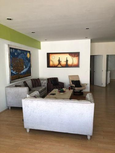 Hermoso Departamento En Renta Con O Sin Muebles De 130 M2 En Santa Fe. Gc