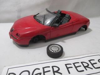 Miniatura Alfa Romeo Maisto 1/18 Diorama Peças