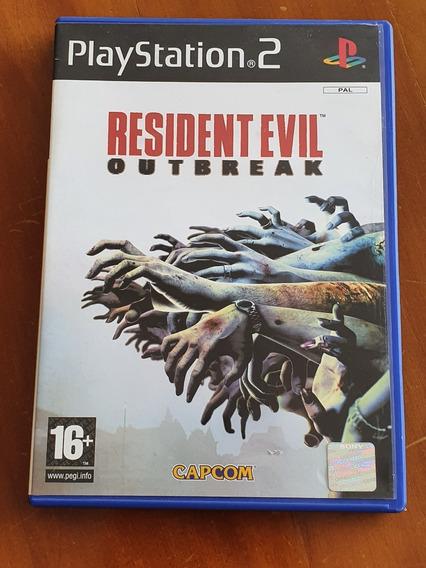 Resident Evil Outbreak Ps2 Europeu Original