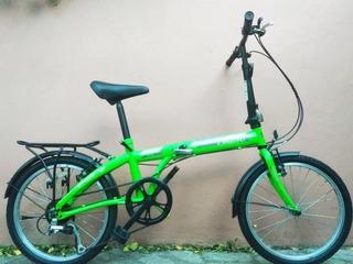 Bici Plegable R20 Lann Gt Shimano 6 Speed Garantia Envio
