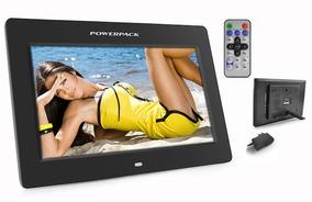 Porta Retrato Digital Powerpack Dpf-1025-preto-10 Polegadas
