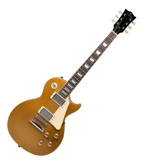 Guitara Les Paul Strike Gm750 Gd Gold Top Michael Imperdível