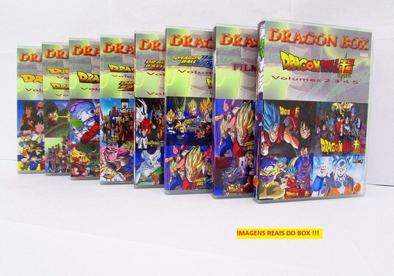 Dvd Box Dragon Ball Z Todas As Temporadas 806 Episódios