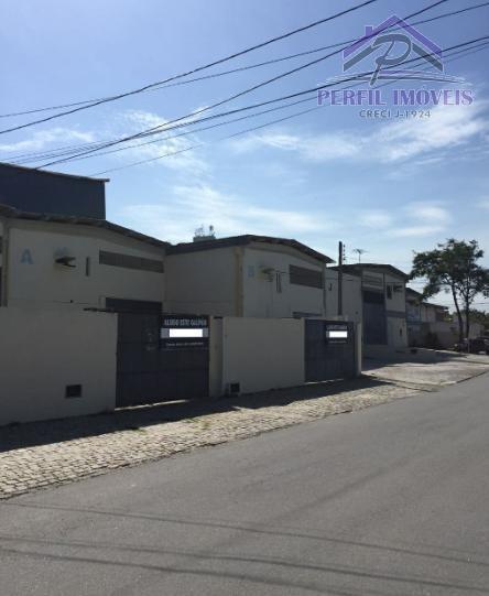 Galpão Para Locação Em Lauro De Freitas, Vilas Do Atlântico, 1 Dormitório, 3 Banheiros, 6 Vagas - 601