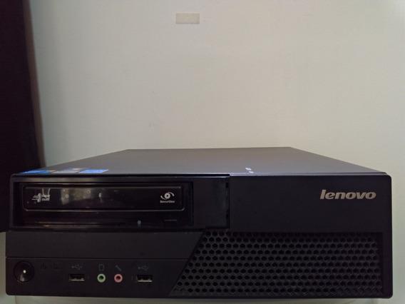 Desktop Lenovo Thinkcentre M58p Core2duo Mem 4gb Hd500gb