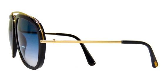 Lentes Gafas Tom Ford Johnson Ft0453 Posh Aviator Italy 57mm