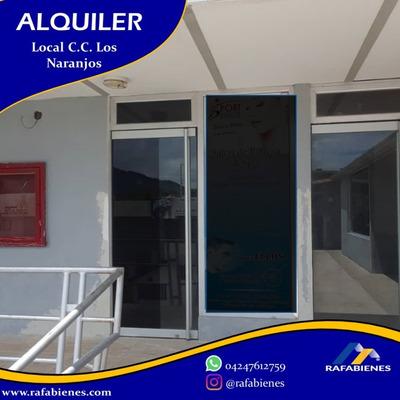 Locales En Alquiler, Cc Los Naranjos