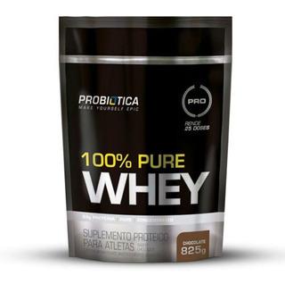 100% Pure Whey - Chocolate - Refil 825g - Probiotica