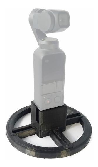 Suporte Base Osmo Dji Pocket (adaptador Tripé ) C/ Rosca 1/4
