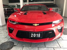 Chevrolet Camaro 6.2 Ss At 2018 Rojo Piel